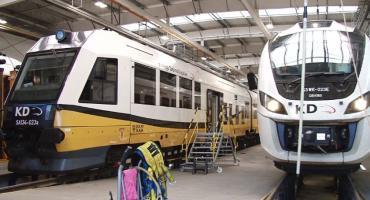Myjnia pociągów Kolei Dolnośląskich stanęła pod znakiem zapytania