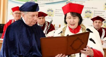 Rektor PWSZ doktorem honoris causa ukraińskiej uczelni