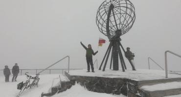 Legniczanin osiągnął swój cel i dojechał rowerze na Nordkapp