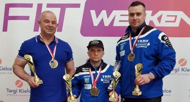Medale siłaczy TKKF Śródmieście na mistrzostwach Polski w Kielcach