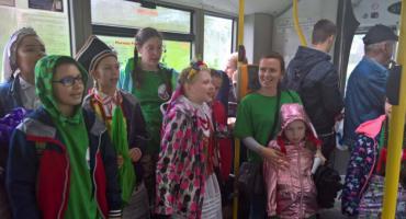 Śpiewające autobusy MPK umilały podróż pasażerom