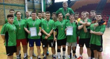 Piłkarze ręczni ZSTiO Legnica zostali mistrzami Dolnego Śląska