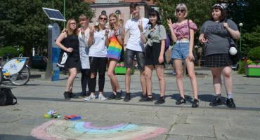 Tęcza na pl. Słowiańskim na znak solidarności ze środowiskiem LGBT