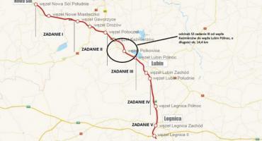 Wiadomo kiedy pojedziemy odcinkiem S3 z Lubina do Polkowic
