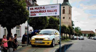 Grzegorz Woźnik tuż za podium Rajdu Radounska w Czechach