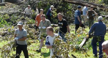 Podziel się wspomnieniami o huraganie i odbudowie parku sprzed 10 lat