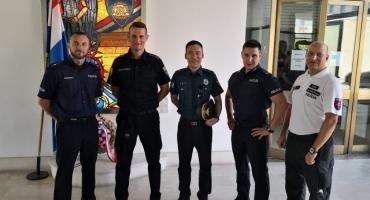 Legnicka policja na letniej służbie Polakom w Chorwacji
