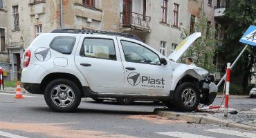 Kolizja na Tarninowie. Zderzenie dwóch samochodów [ZDJĘCIA]