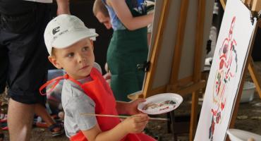 Familijne zajęcia ze sztuką na Zamku Piastowskim [FOTO]