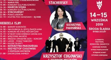 Cugowski i Stachurski gwiazdami Święta Wina w Mieście Skarbów