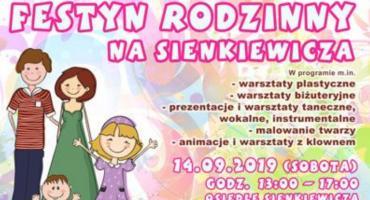 W najbliższą sobotę familijny festyn na osiedlu Sienkiewicza