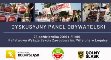 """""""Rozwój Tak - Odkrywki Nie"""" czyli dyskusyjny panel obywatelski w Legnicy"""