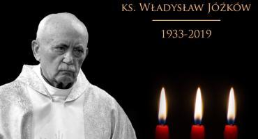 Nie żyje ksiądz prałat Władysław Jóźków. Miał 86 lat
