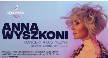 Ania Wyszkoni akustycznie w Hotelu Sękowski. Koncert już 7 grudnia