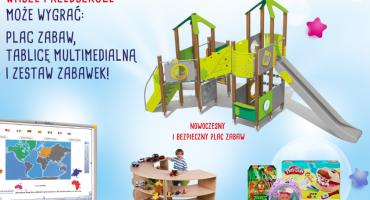 Przedszkolaki z Legnicy walczą o plac zabaw - pomóż im wygrać!