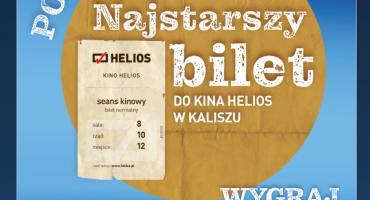 Poszukiwany najstarszy bilet do kina Helios!