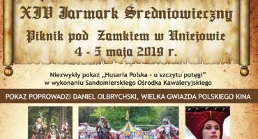 Jarmark Średniowieczny – piknik pod zamkiem w Uniejowie 4 – 5 maja 2019 r.