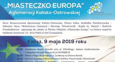 Miasteczko Europa – piknik Aglomeracji Kalisko-Ostrowskiej