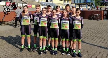 Puchar Polski w kolarstwie torowym juniorów młodszych z reprezentantami KTK Kalisz