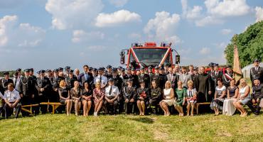 Nowy wóz strażaków z Borowa