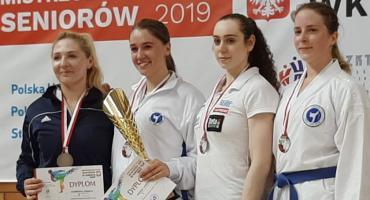 Siostry Kamińskie z medalami Mistrzostw Polski w Karate WKF