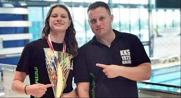 Pływaczka KKS Kalisz najlepsza w Polsce. Julia Maik dwukrotną mistrzynią kraju