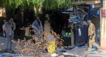 Wybuchowe włamanie do bankomatu
