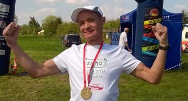 67-letni mieszkaniec Kalisza przebiegł 8439 km w maratonach!