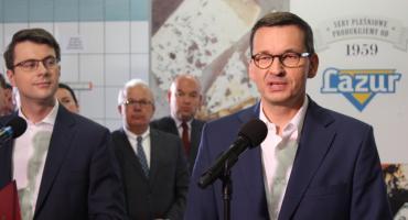 Czy premier w Skalmierzycach obiecał kaliszanom obwodnicę?