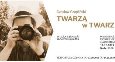 Fotografował najsłynniejszych. Wystawa Czesława Czaplińskiego w Wieży Ciśnień