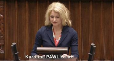Kiedy obwodnica dla Kalisza? – sejmowy debiut posłanki Karoliny Pawliczak
