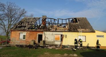 Pożar w Polskich Łąkach. Siedem osób straciło dach nad głową