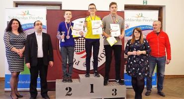 Dominik Rubaj mistrzem Polski juniorów do 13 lat w warcabach