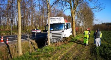Wypadek w Bzowie. Kolejny z serii z naszego powiatu