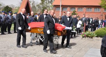 Pogrzeb Adama Łobockiego: pożegnaliśmy zasłużonego policjanta [ZDJĘCIA]