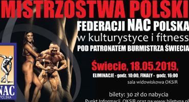 Mistrzostwa Polski w Świeciu. Zobaczymy najlepszych kulturystów w Polsce!