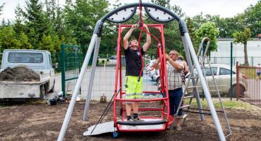Huśtawki dla dzieci niepełnosprawnych już w Świeciu!