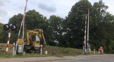 Uwaga! Zamknięty przejazd kolejowy Osie-Jaszcz