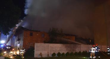 W płonącym budynku był mężczyzna. Drugi uciekł