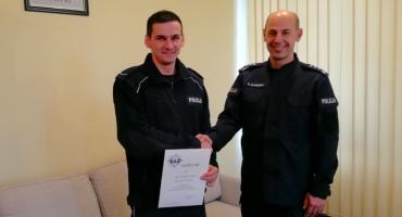 Sierżant Paweł Wojtas najlepiej w województwie zna Kodeks wykroczeń