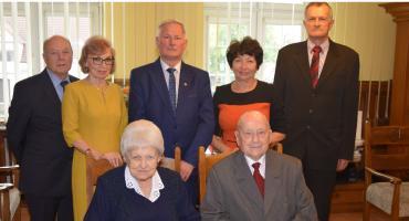 Państwo Franciszka i Kazimierz Fojutowie są 70 lat małżeństwem
