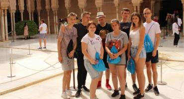 Zespół Szkół Ponadgimnazjalnych w Nowem po praktykach w Hiszpanii