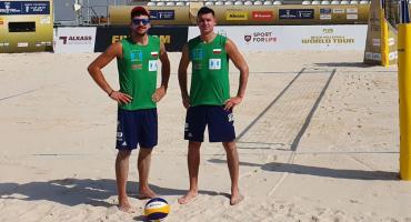 Tomasz Wołoszuk i Piotr Ilewicz zagrali dwa mecze w Katarze [ZDJĘCIA]