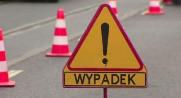 Wypadek na trasie Świekatowo-Zalesie Królewskie. Jedna osoba poszkodowana
