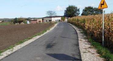 Droga w Kosowie po remoncie. Jej koszt to ponad 755 tys. zł