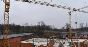 Centrum Integracji w budowie