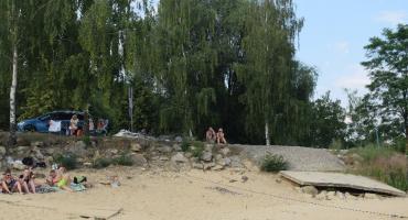 Jezioro przypomina czasy PRL