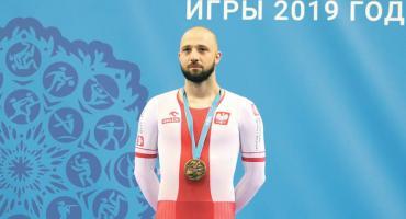Kolarstwo: Krzysztof Maksel brązowym medalistą Igrzysk Europejskich
