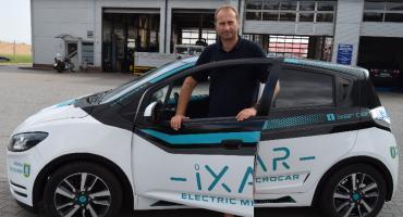 iXAR - elektryczne auto Pawła Dytki