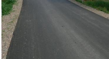 Zamiast szutru asfalt